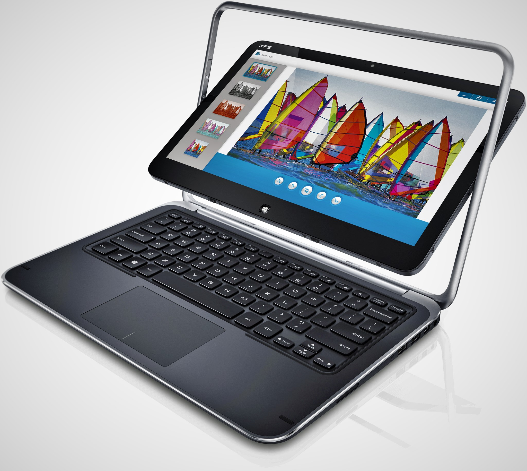 Dell XPS 12 – World's First 2-in-1 4K Convertible PC
