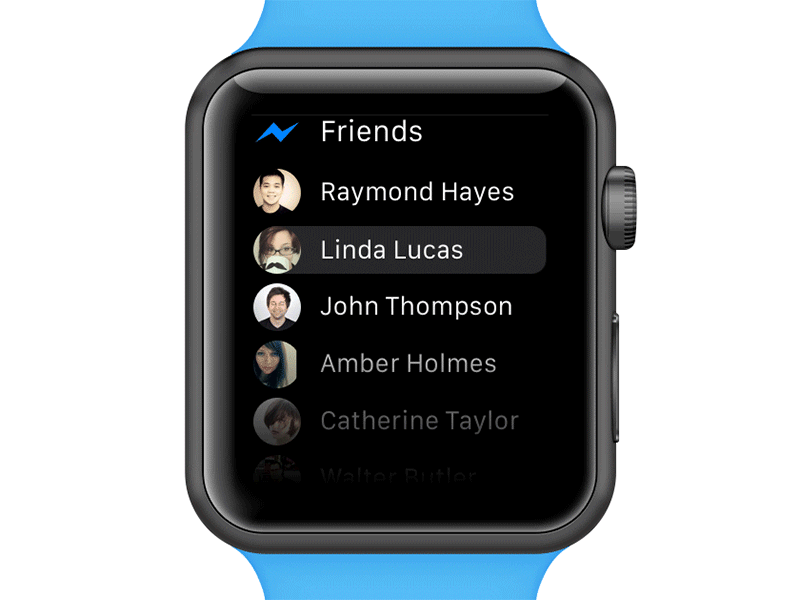 Messenger App For Apple Watch
