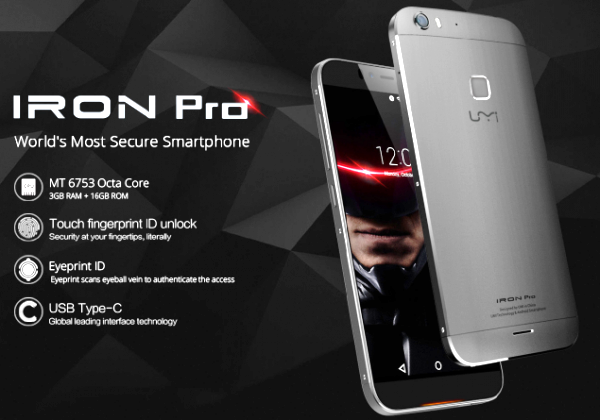 New Umi Iron Pro With Eye & Finger Unlock Features