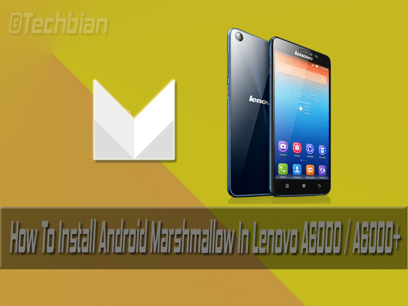 lenovo a6000 plus volte software download