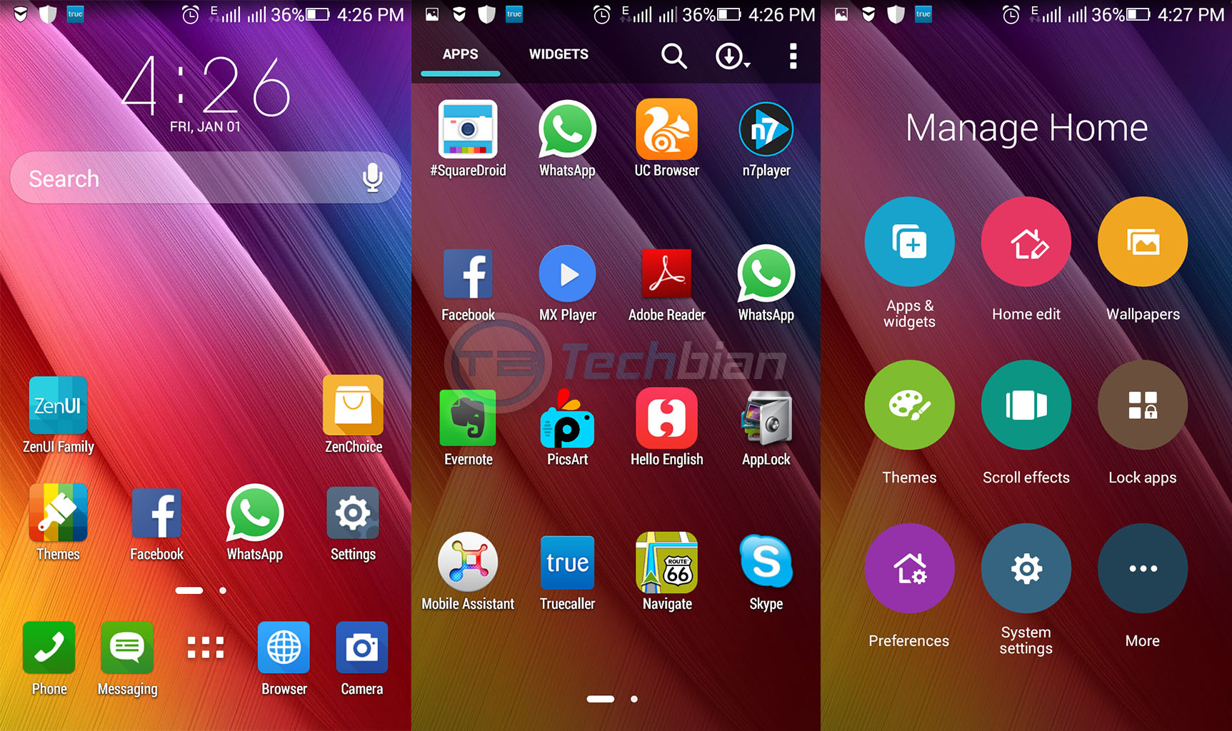 asus zenui launcher for all android smartphones