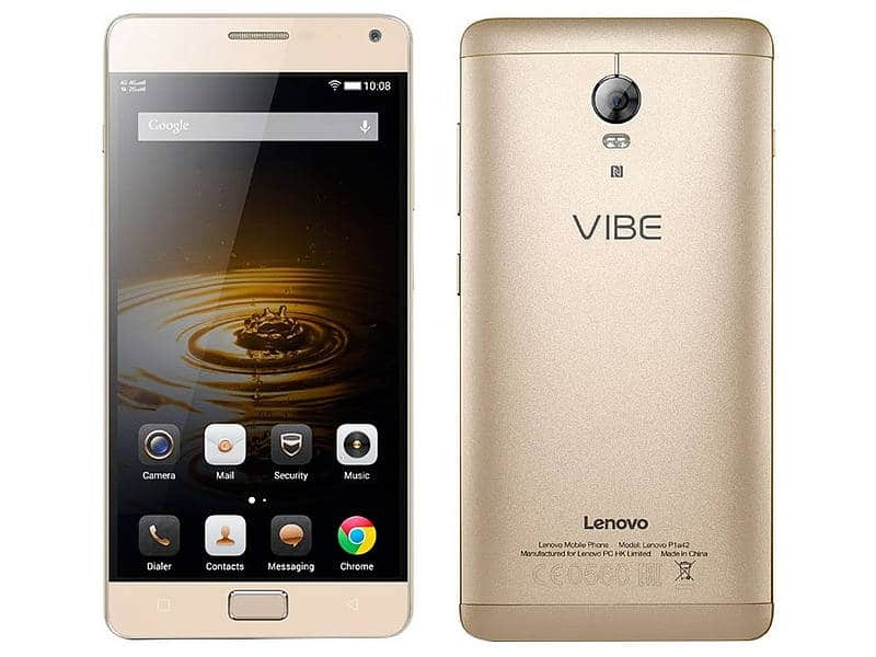 Lenovo Vibe P1 Recieved Android Marshmallow OTA Update