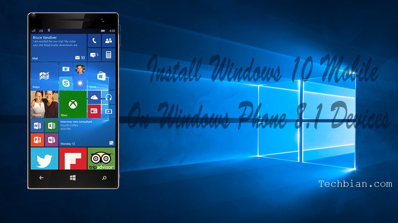 Get the Windows 10 RTM For Windows Phone 8.1 Devices
