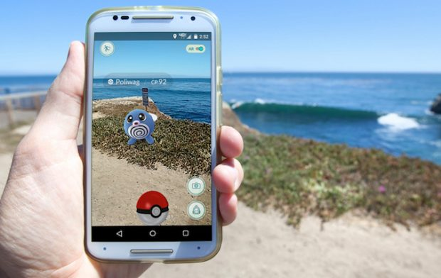 Pokémon Go in Android Moto G