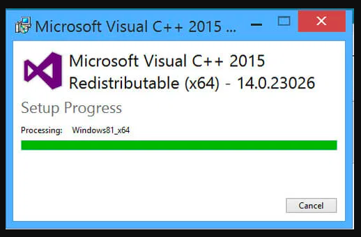 Reinstall-Visual-C-+-+-Redistributable
