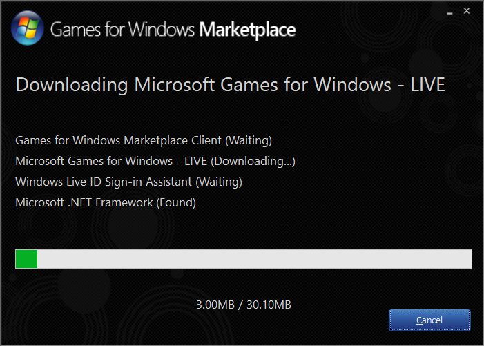 Installing Games For Windows Live